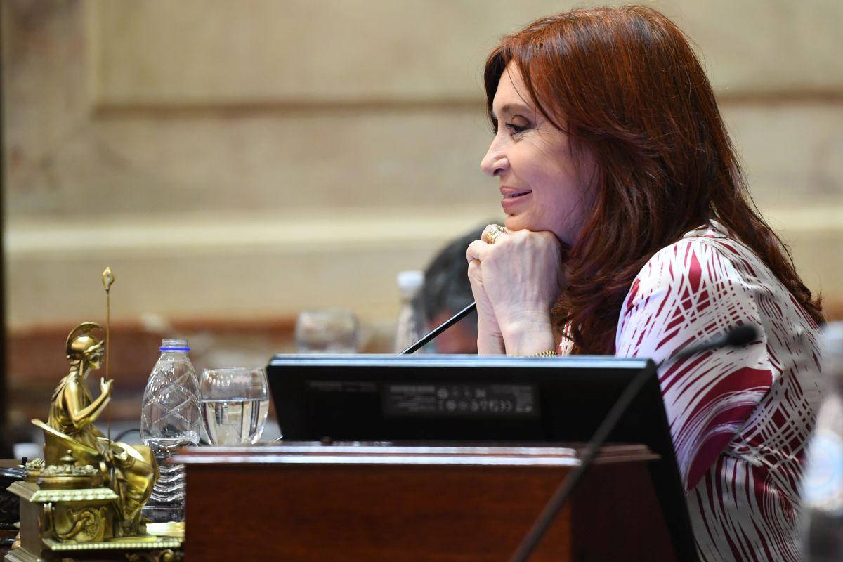 cristina kirchner presidenta senado