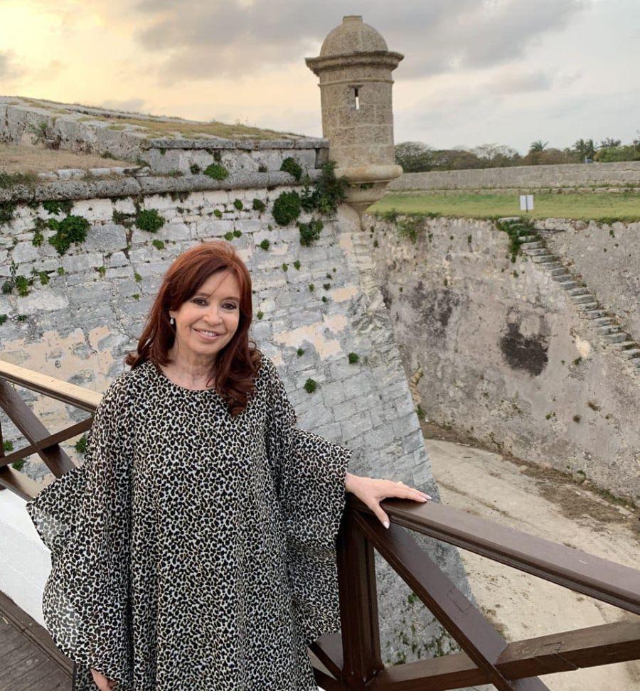 Cristina Kirchner en Cuba