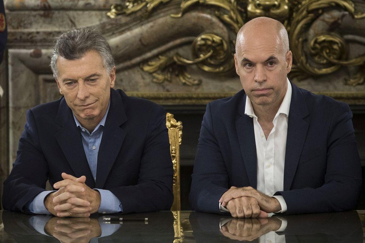 Horacio Rodriguez Larreta y Mauricio Macri