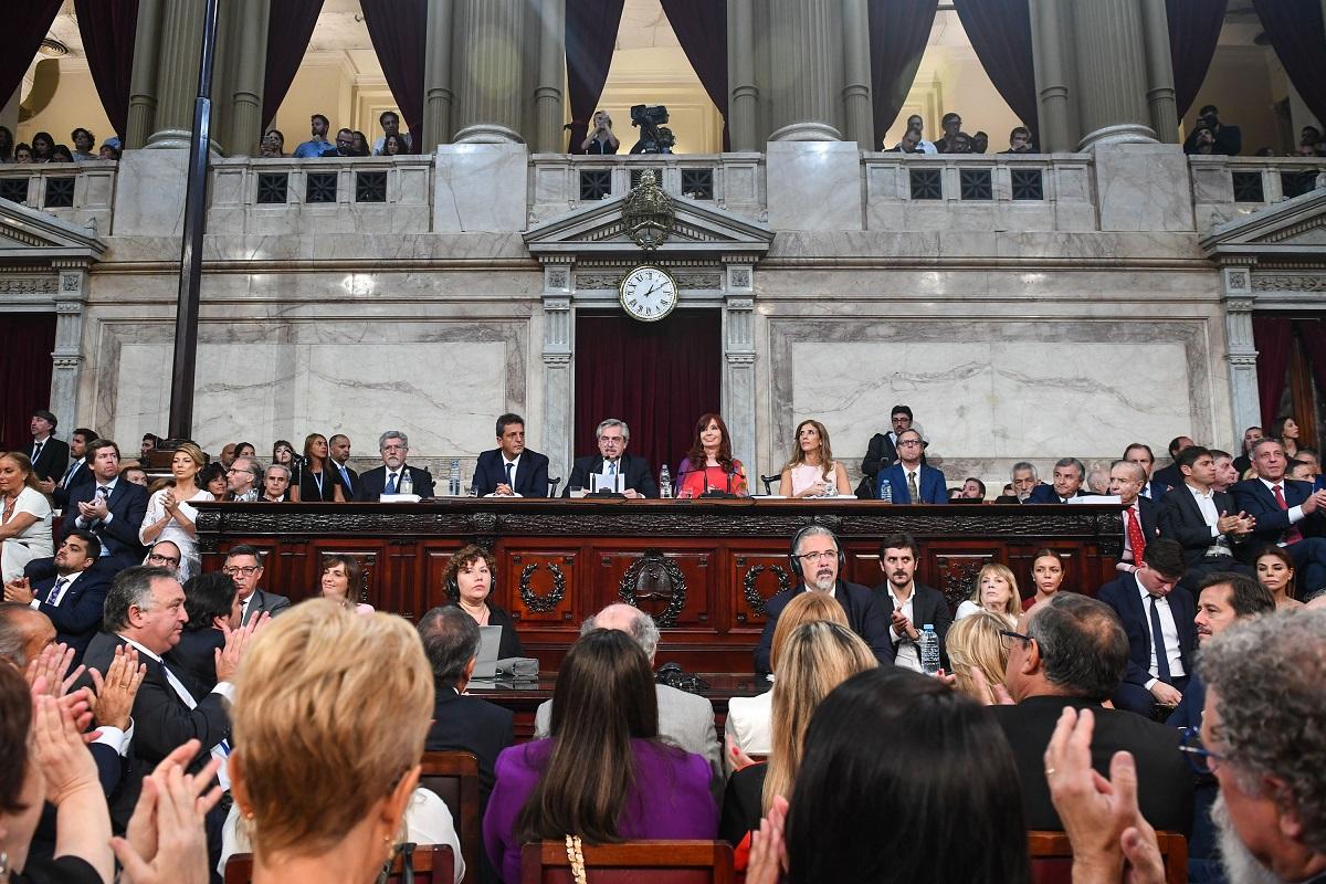 asamblea legislativa 2020 alberto fernandez discurso