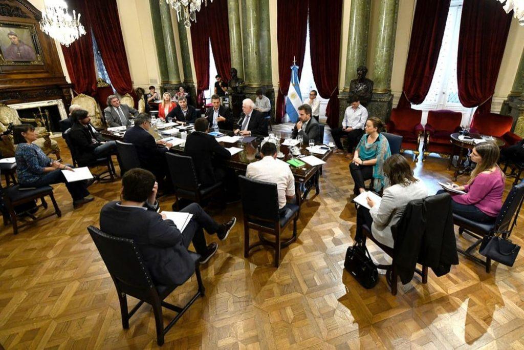 reunion coronavirus gines gonzalez garcia jefes de bloques diputados