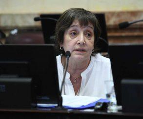 Femicidios: Mirkin pide a Diputados tratar un proyecto suyo
