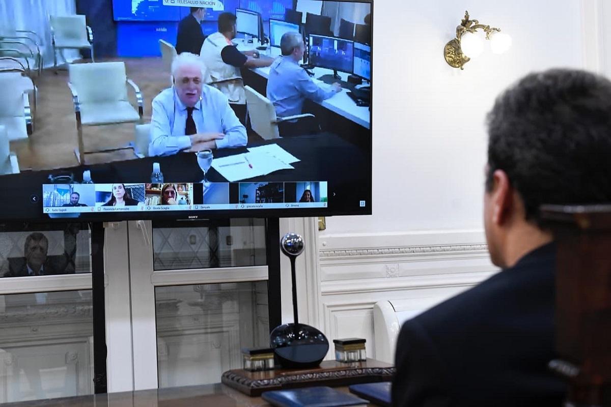 videoconferencia gines gonzalez comision diputados massa