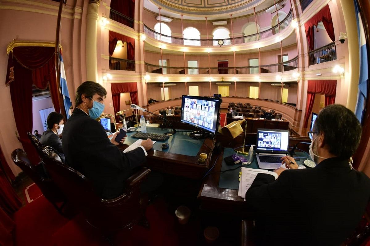 sesion virtual legislatura de entre rios