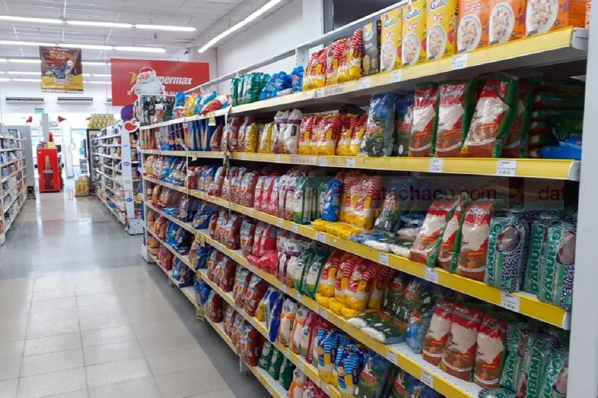 supermercado gondola