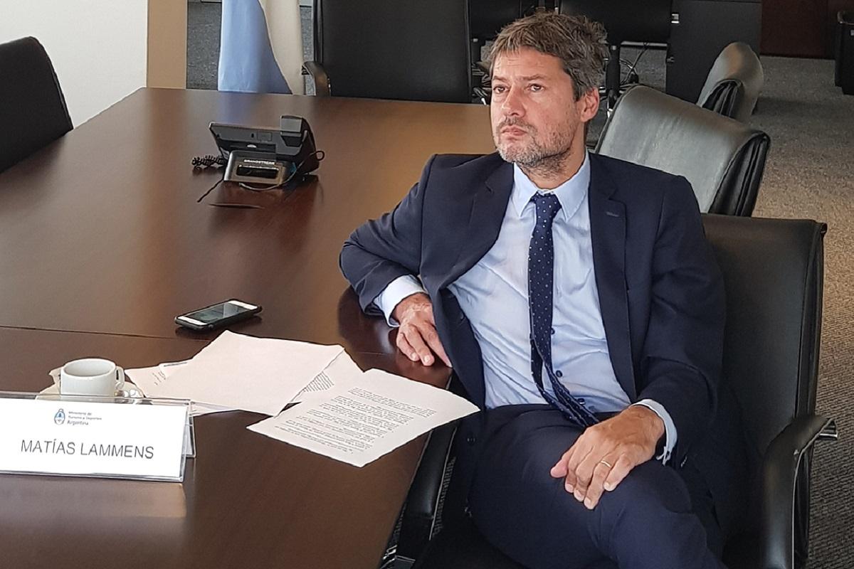 ministro de turismo matias lammens