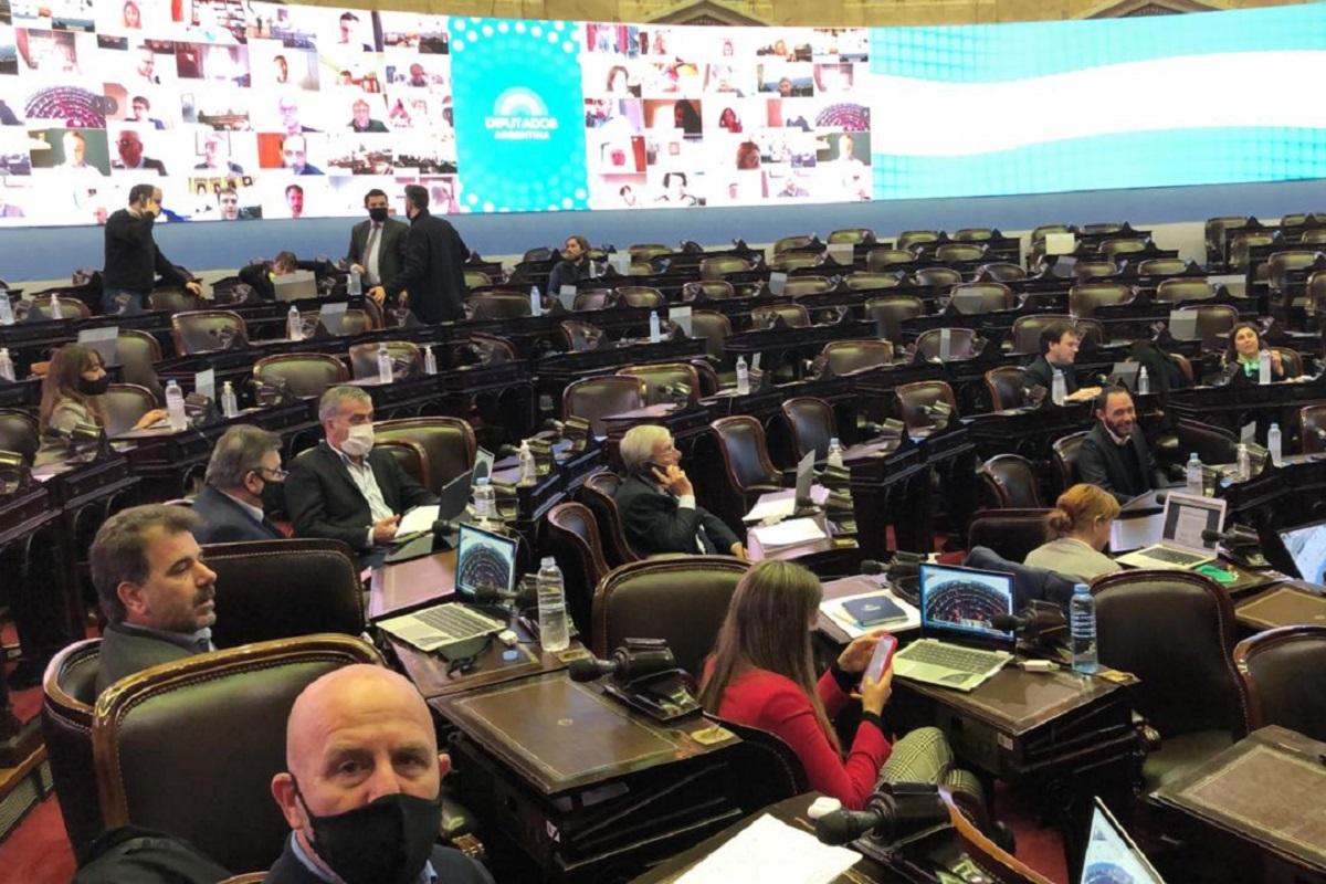 sesion virtual en minoria dnu superpoderes