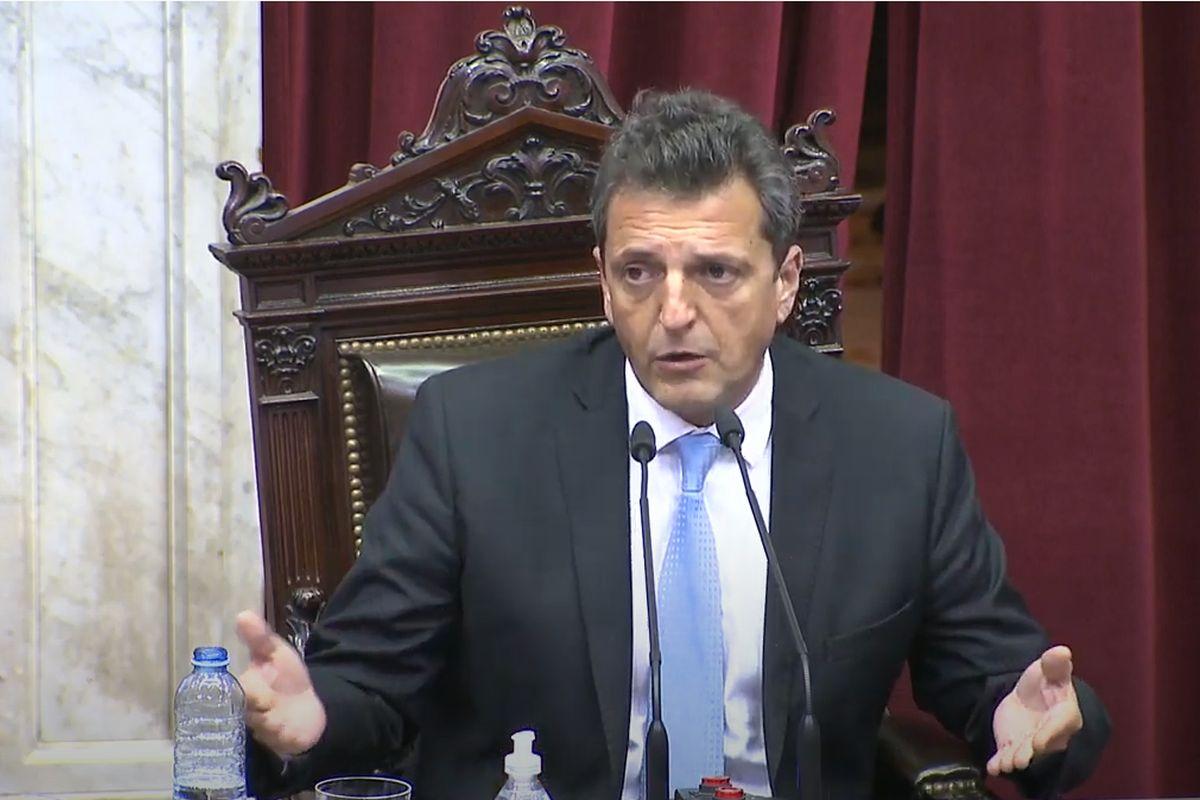 """Massa: """"El mérito central del acuerdo es de Alberto Fernández y Guzmán"""""""