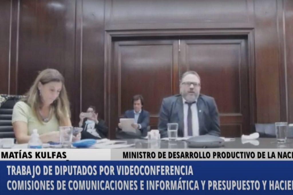 comision comunicaciones diputados matias kulfas