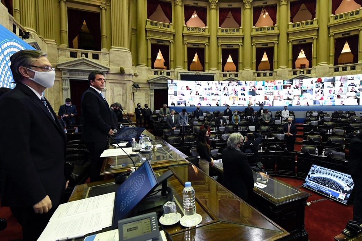 sesion virtual diputados 25 de junio 2020