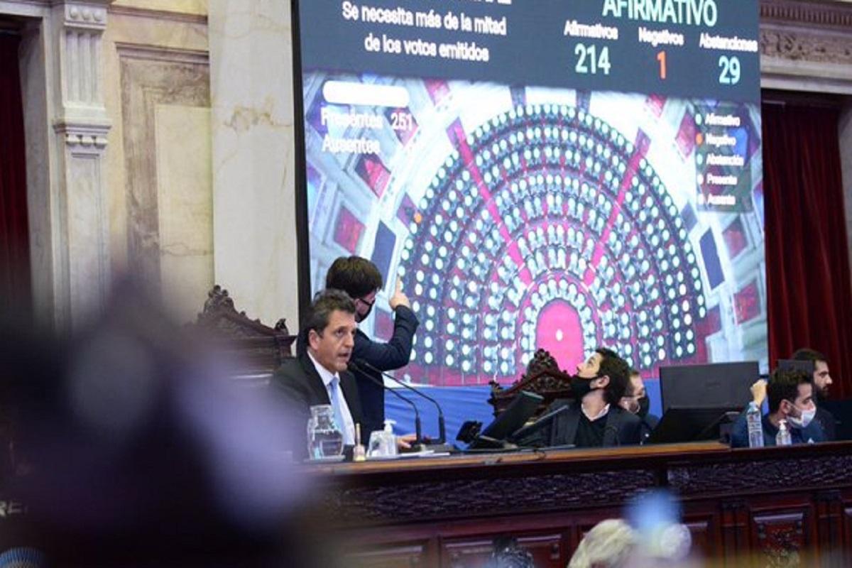Con una maratónica sesión, la Cámara baja volverá a la presencialidad plena este martes
