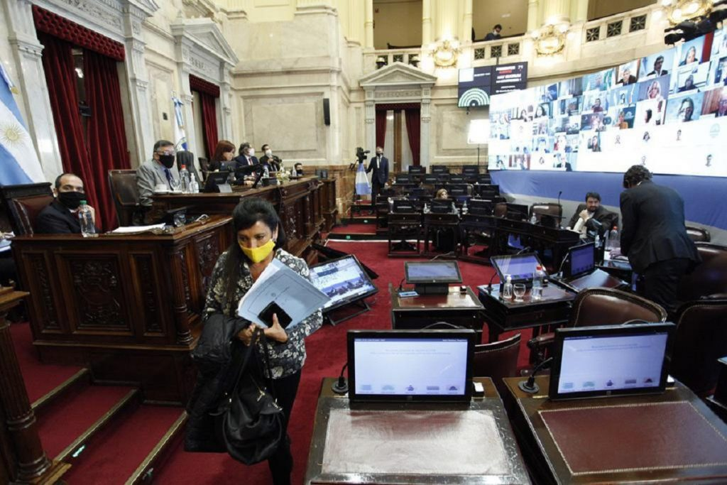 sesion virtual senado 4 de junio