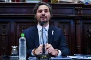 La réplica del Gobierno al pedido de la oposición por la presencia de Cafiero