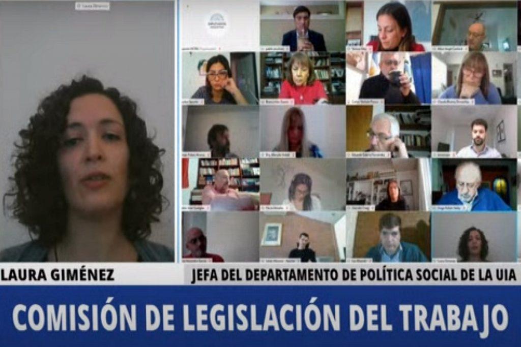 comision legislacion del trabajo teletrabajo empresarios
