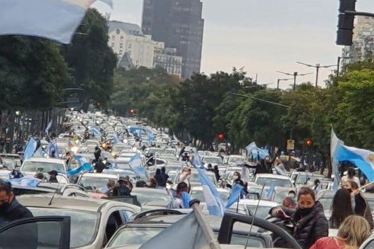 """La oposición destacó el """"banderazo"""" contra la expropiación de Vicentin"""