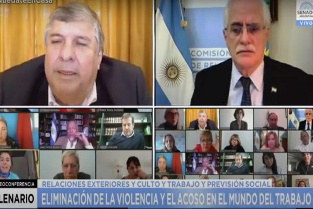 discusion plenario de comisiones senado mayans lousteau