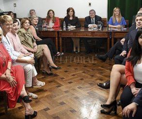 El bloque del FdT en el Senado se sumó al repudio contra Iglesias
