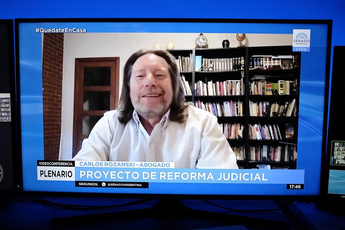 plenario comisiones reforma judicial 18 agosto 2020 rozanski