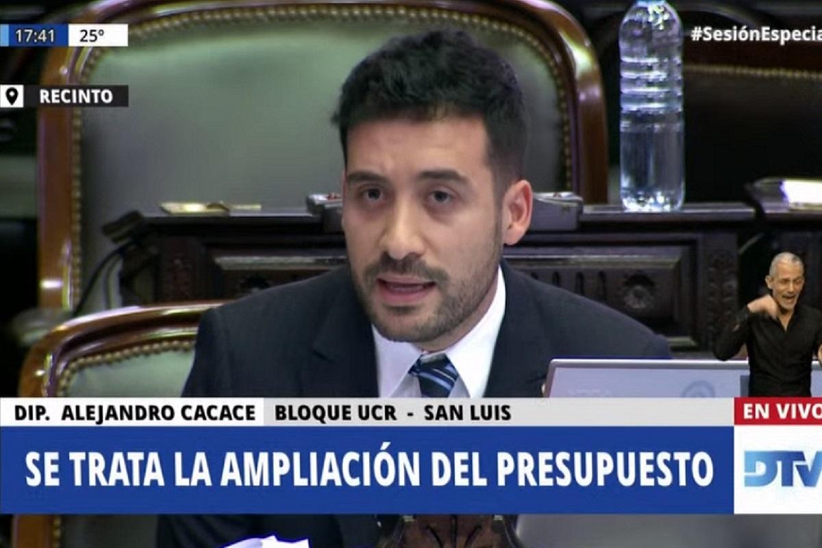 alejandro cacace aerolineas sesion ampliacion presupuestaria