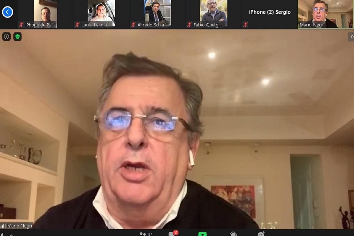 mario negri reunion virtual consejo agroindustrial argentino