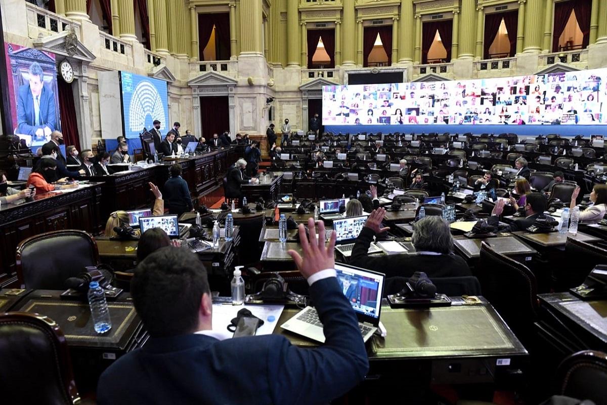 votacion ampliacion presupuestaria sesion diputados