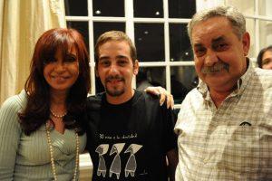 Condolencias de CFK por la muerte de Covid de un nieto recuperado