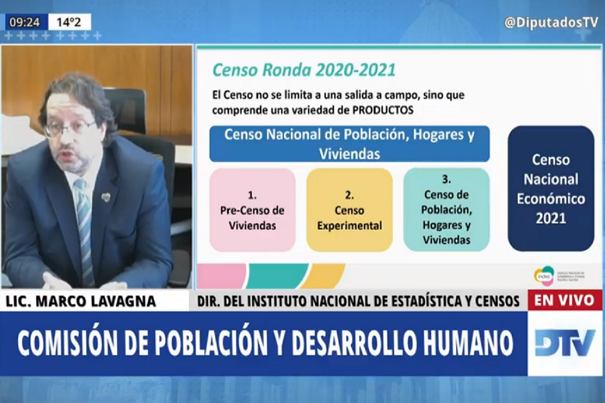 marco lavagna exposicion comision poblacion en diputados
