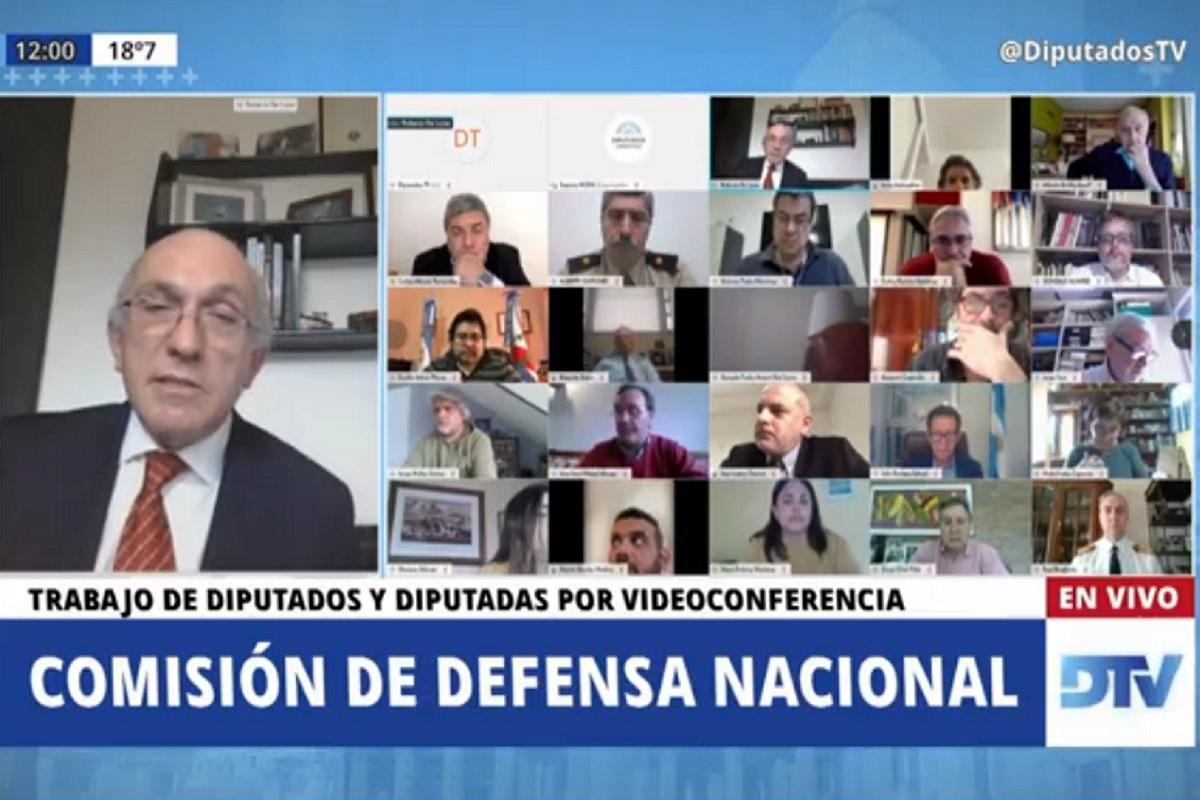 roberto de luise comision defensa nacional diputados
