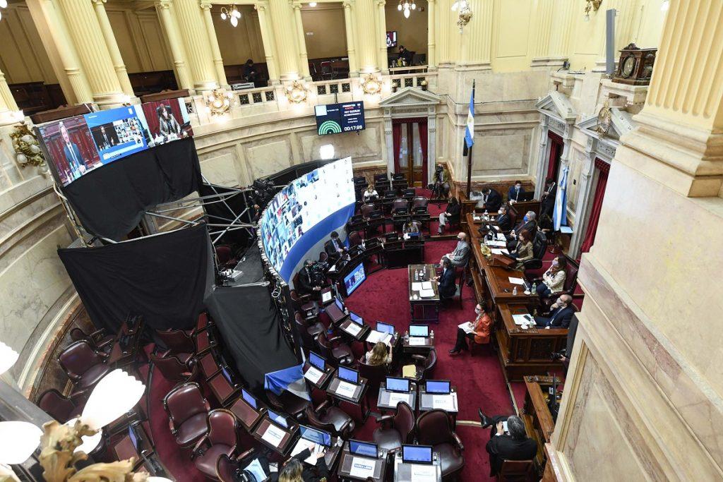 sesion senado informe cafiero octubre