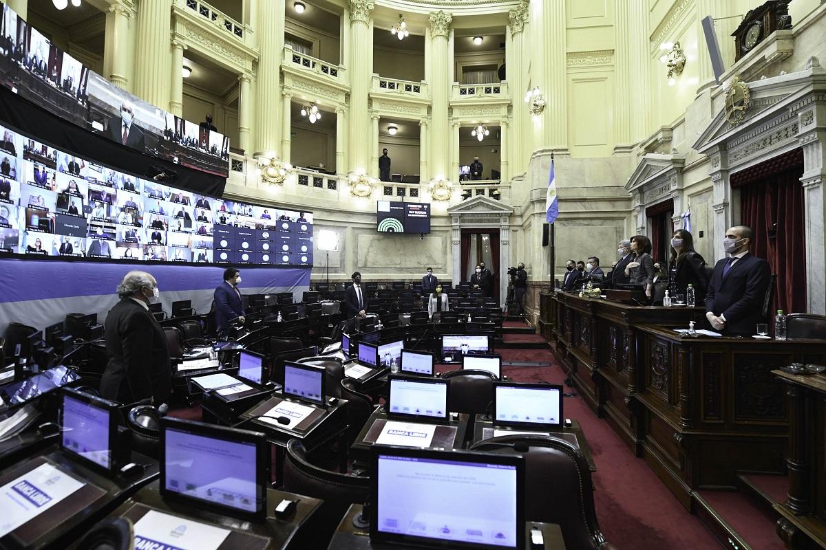 sesion senado recinto 20 octubre 2020