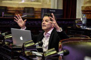 """Laspina advirtió que el Presupuesto se basa en """"premisas insólitas"""" y anunció la abstención de JxC"""