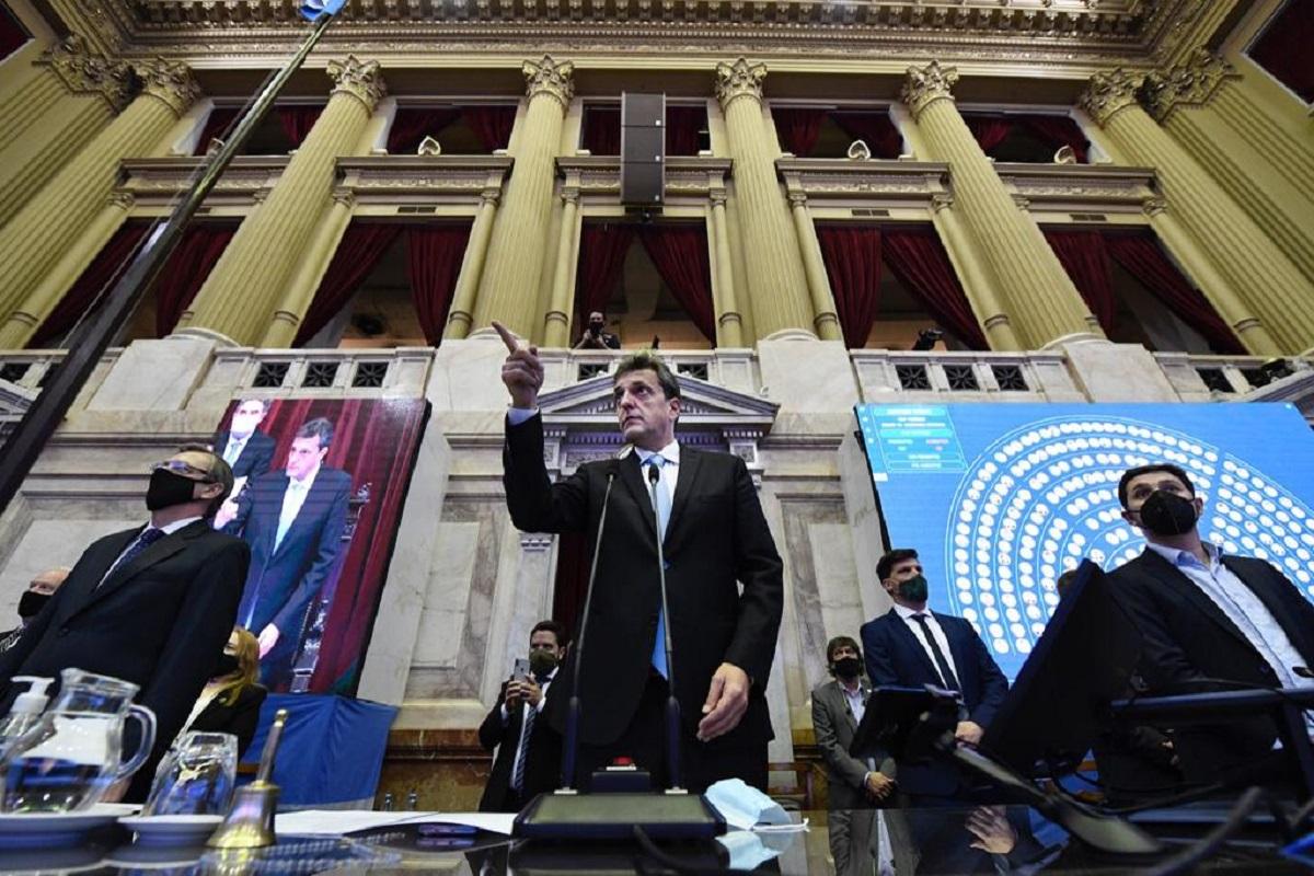 Por primera vez desde el inicio del aislamiento, Diputados sesionó con mayoría presencial
