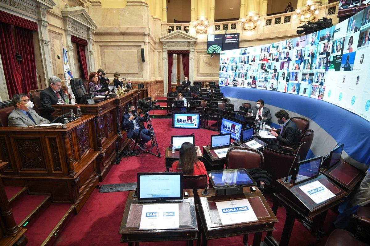 sesion senado 2 octubre 2020