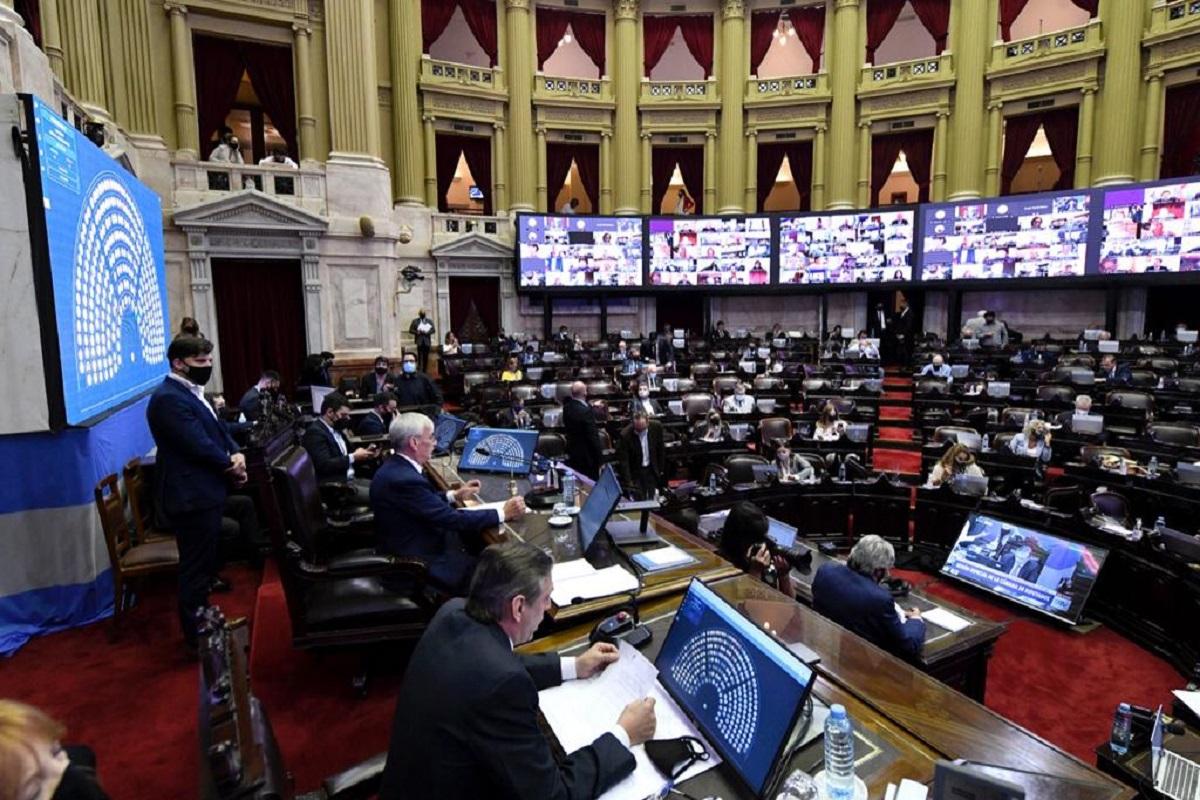 sesion aporte solidario diputados