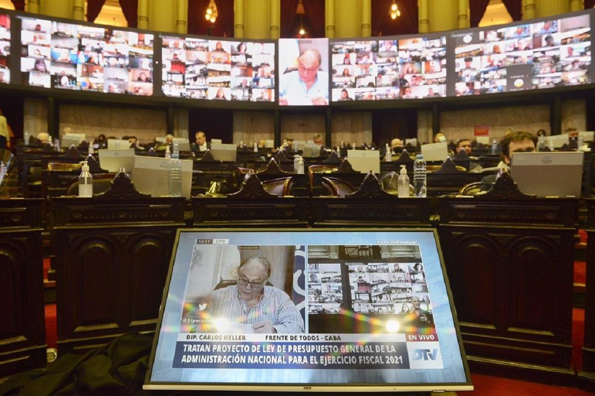 carlos heller sesion diputados aporte solidario