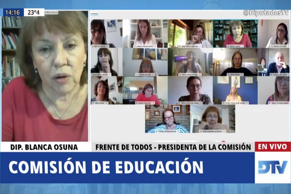 comision educacion 3 noviembre 2020