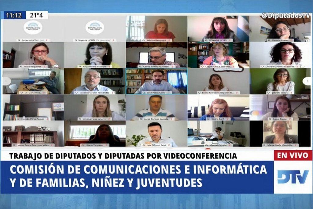 plenario comunicaciones e informatica familia ninez juventudes