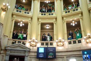 Histórico: el Senado sancionó el aborto legal con una diferencia de nueve votos y algunas sorpresas
