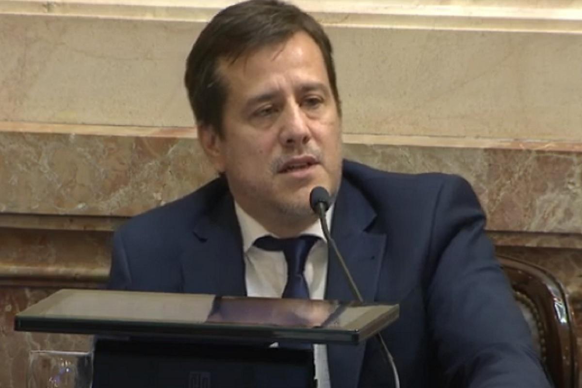 mariano recalde sesion senado 10 diciembre 2020