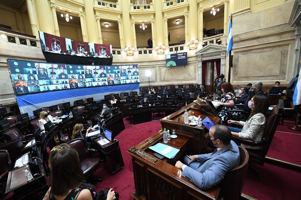 sesion senado 10 diciembre 2020