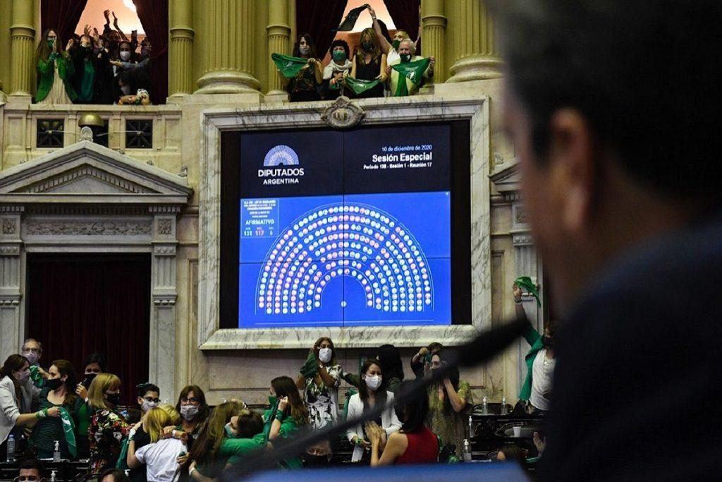 votacion aborto legal diputados diciembre 2020