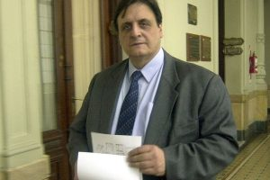 Negri rindió un sentido homenaje a Raúl Baglini