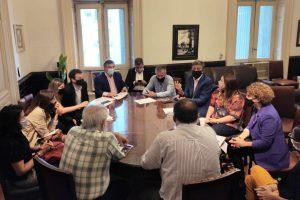 El interbloque de JxC se reunió con ONGs que impulsan la Boleta Única de Papel