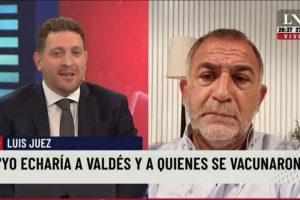 Qué haría Luis Juez con Eduardo Valdés