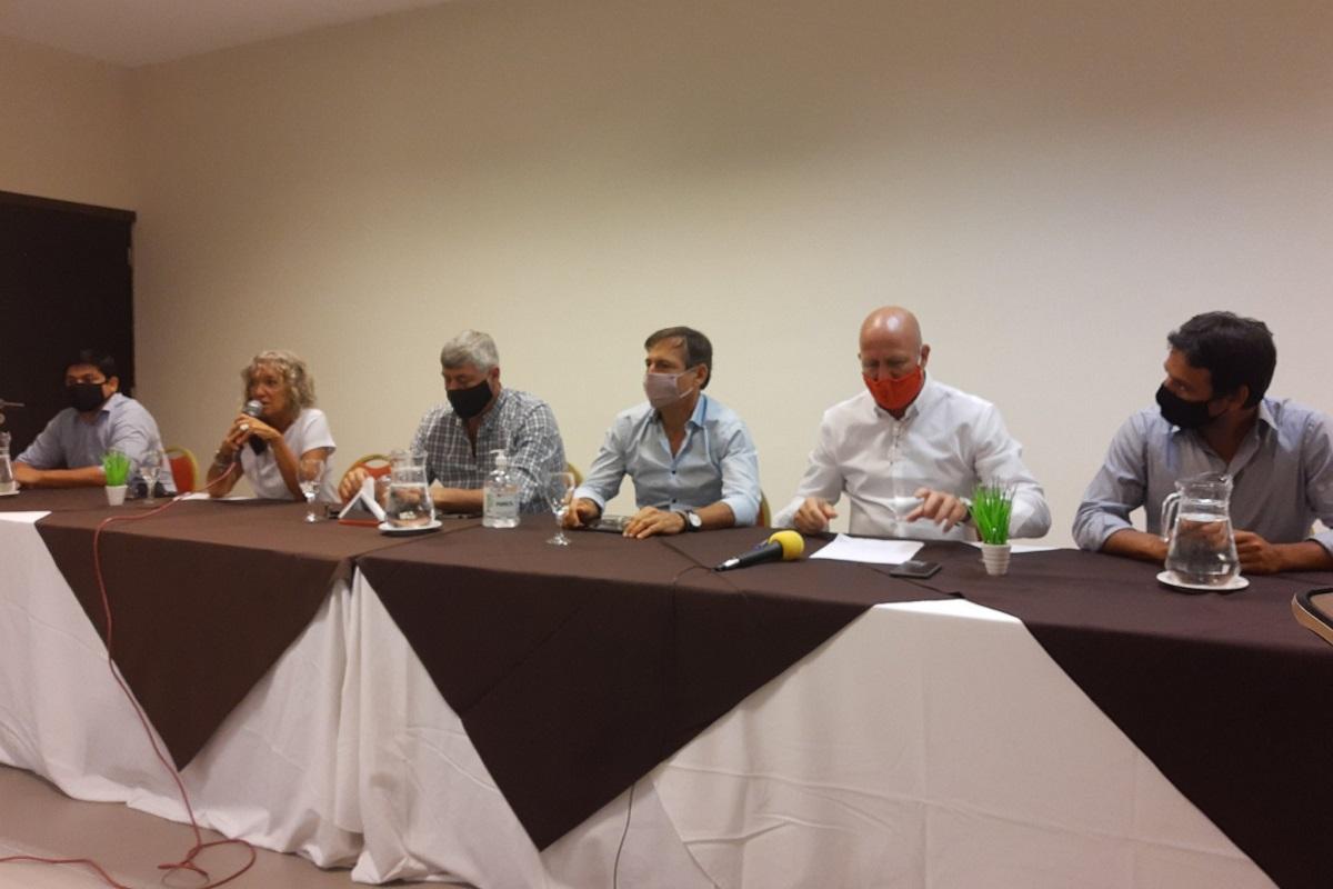 conferencia diputados juntos por el cambio formosa