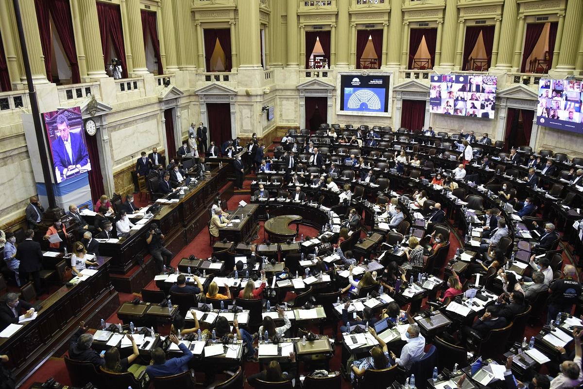 recinto sesion diputados 11 febrero 2021