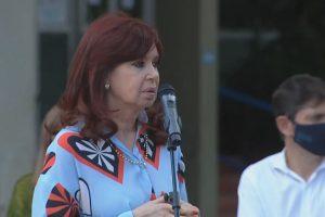 Cristina se solidarizó con Esteban Bullrich