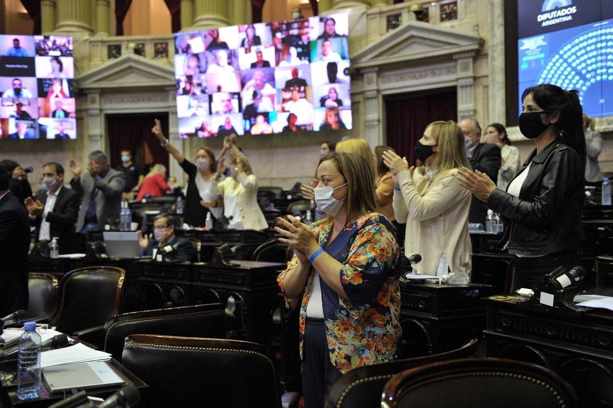 sesion ganancias bloque frente de todos diputados