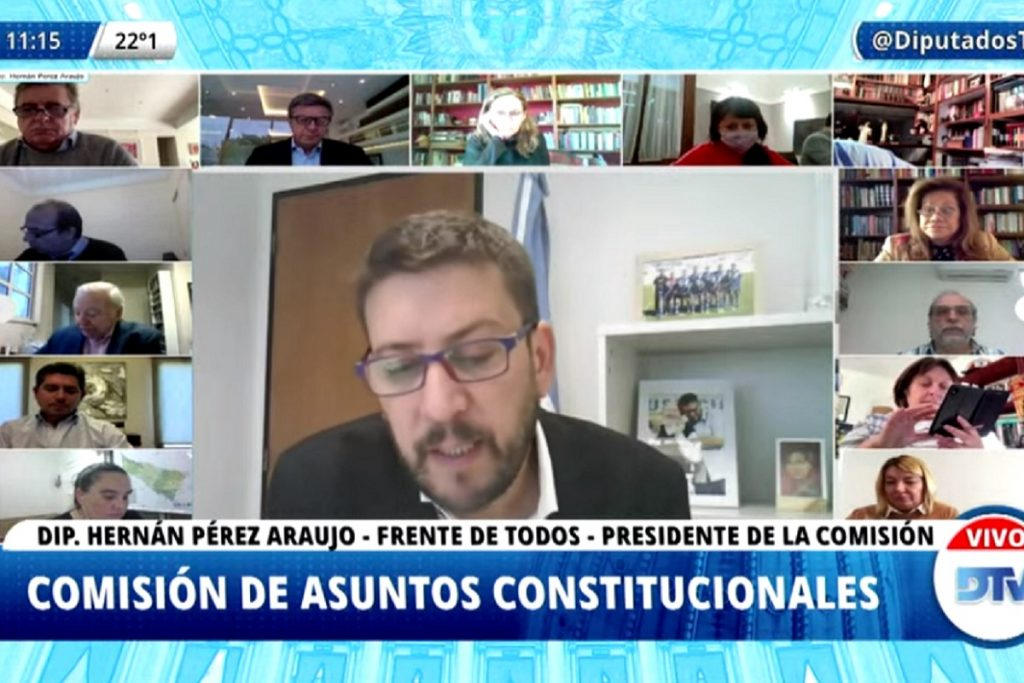 comision asuntos constitucionales diputados 29 abril 2020