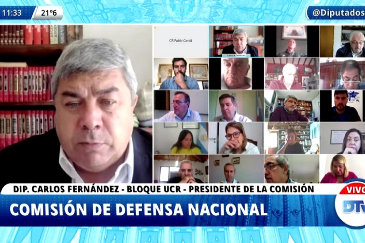 comision defensa diputados 20 abril 2020
